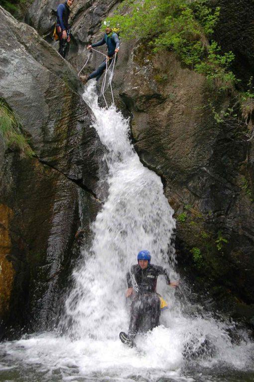 Andorre-Canyoning