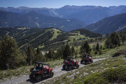 Andorre randonnée en Buggy